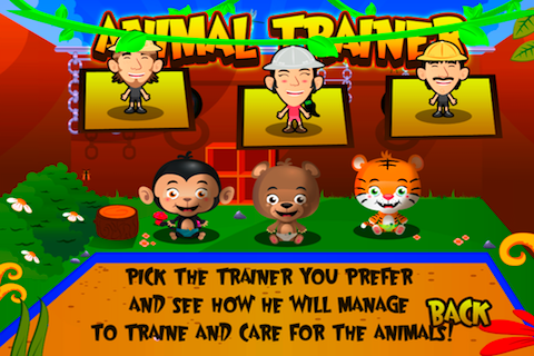 Screenshot Animal Trainer
